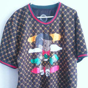 Maxi Milian Men Shirt Jersey Finest Thread Luxury